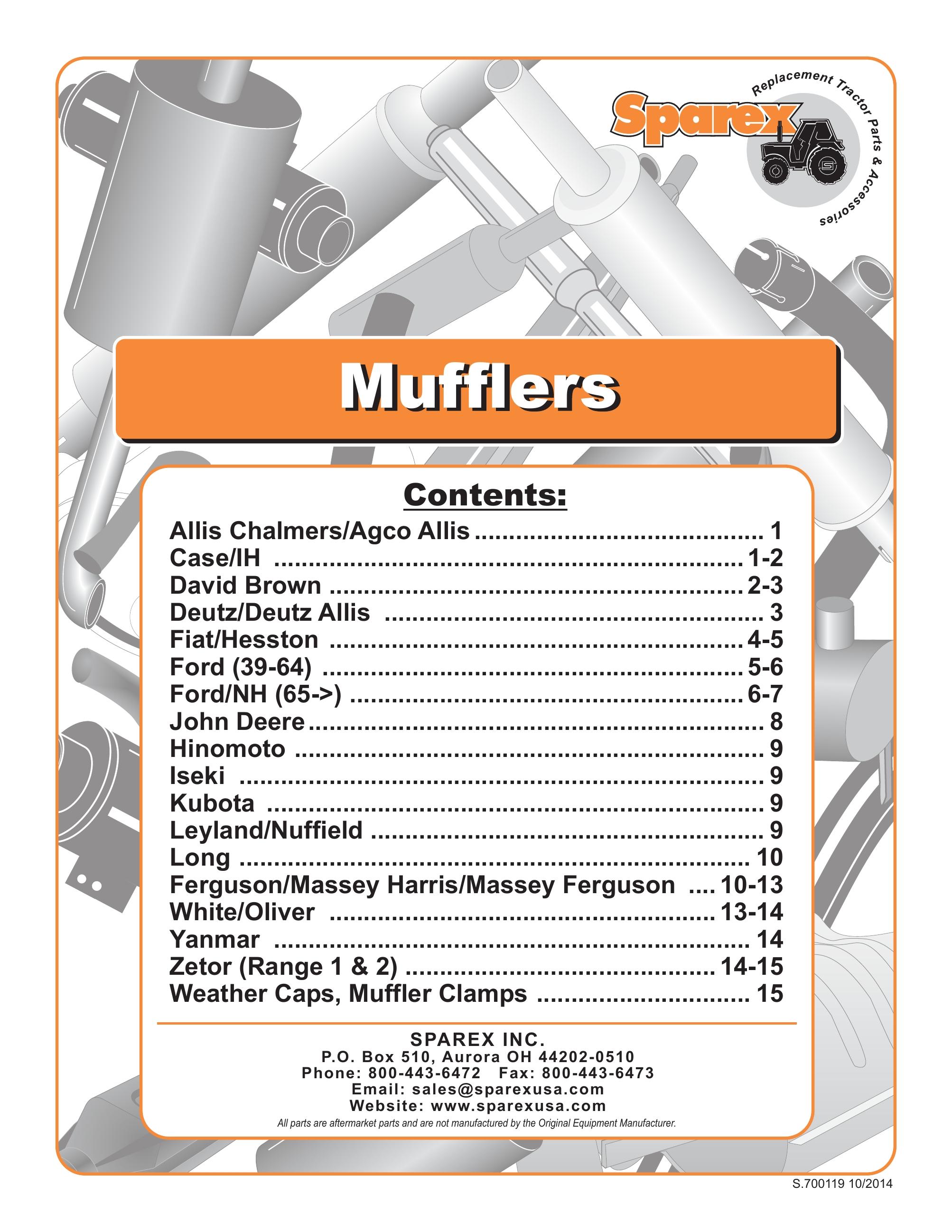 Sparex Catalogs