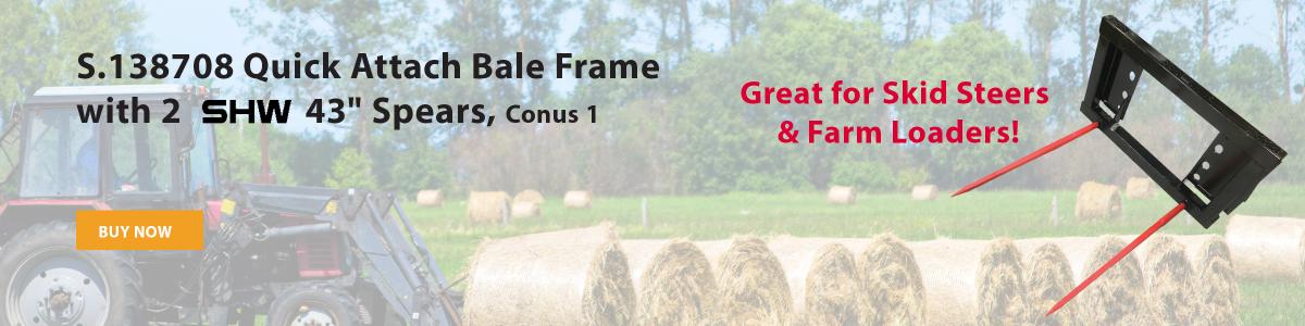 Quick Attach Bale Frame